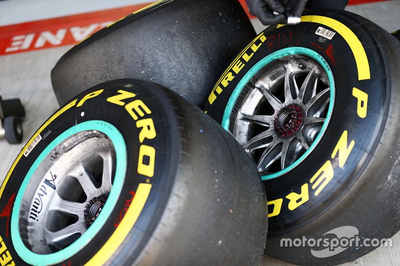 Mercedes AMG F1 Pirelli lastikleri