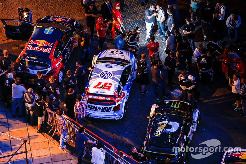 Autos del World RX en Rosario