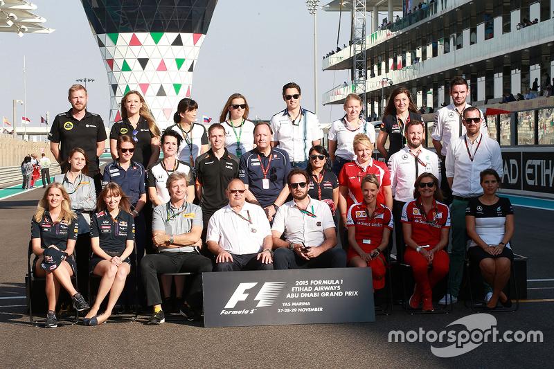 Gruppenfoto der Pressesprecher