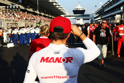 Will Stevens, Manor Marussia F1 Team on the grid
