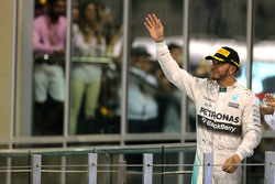 Second place Lewis Hamilton, Mercedes AMG F1 Team