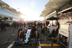 Машина Sahara Force India F1 VJM08 Серхио Переса, Sahara Force India F1 на стартовой решетке