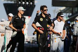 Ромен Грожан, Lotus F1 Team на параде пилотов