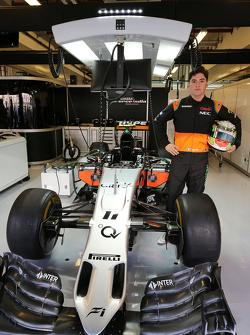 Alfonso Celis Jr., Sahara Force India F1, piloto de desarrollo