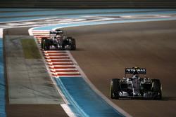 Nico Rosberg und Lewis Hamilton, Mercedes AMG F1 W06