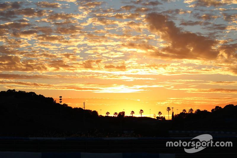 Sonnenaufgang in Jerez