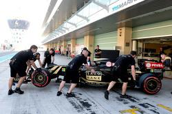 Jolyon Palmer, Lotus F1 E23 Piloto de Prueba y de Reserva