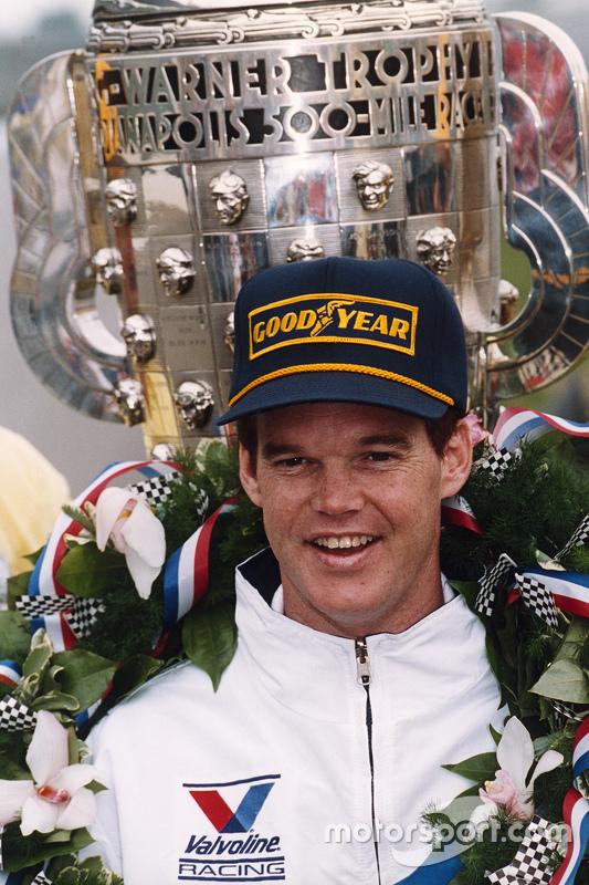 Juara balapan Al Unser Jr.