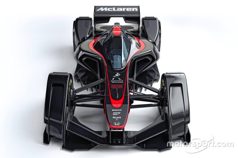 Formel-1-Designstudie: McLaren (2015)