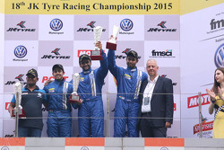 Podyum: Kazanan Sailesh Bolisetti, ikinci Ishaan Dodhiwala, üçüncü Anindith Reddy