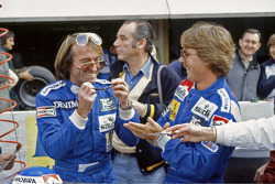 Jacques Laffite y Keke Rosberg, Williams