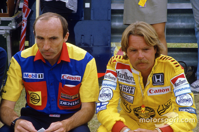 Frank Williams y Keke Rosberg, Williams