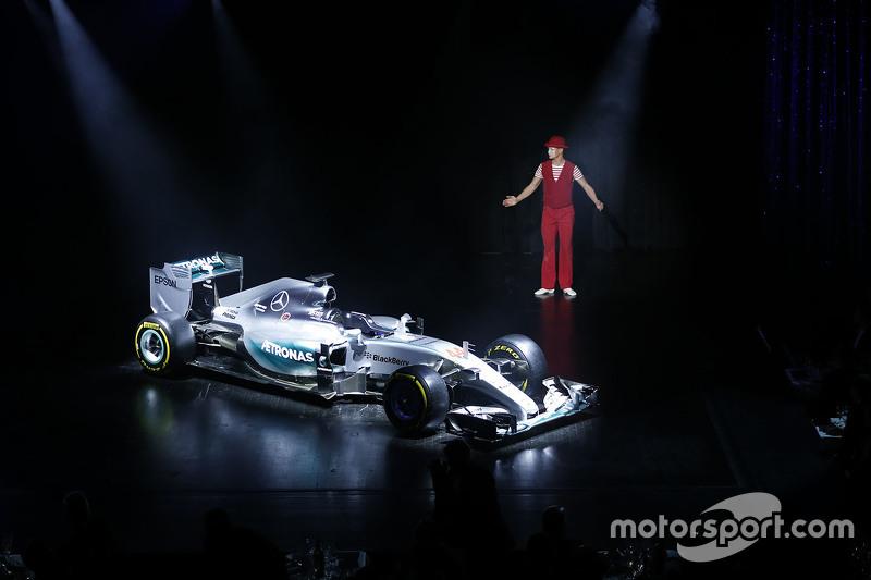 刘易斯·汉密尔顿的世界冠军战车——梅赛德斯 AMG F1 W06.