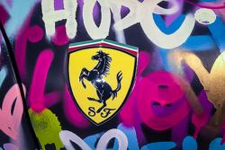 Detail of the Ben Levy Ferrari F430