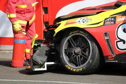 Tim Slade, Walkinshaw Racing Holden kecelakaan mobil detail