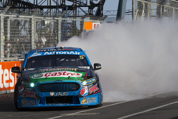 2015 V8 Supercars Champion Mark Winterbottom, Prodrive Racing Australia, Ford feiert