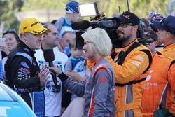 Juara Umum V8 Supercars 2015 Mark Winterbottom, Prodrive Racing Australia Ford bersama media