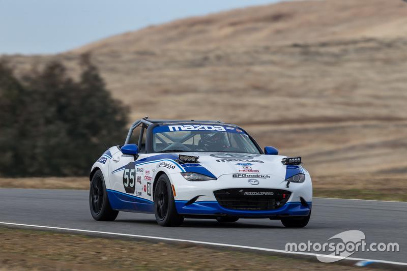 #55 Mazda USA Mazda MX-5 Cup: Taz Harvey, Richard Fisher, RAndy Miller