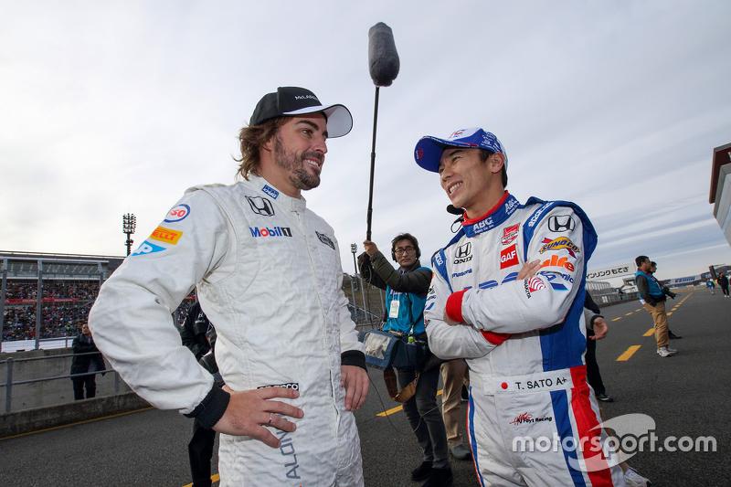 Fernando Alonso und Takuma Sato
