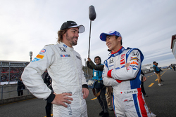 Fernando Alonso and Takuma Sato