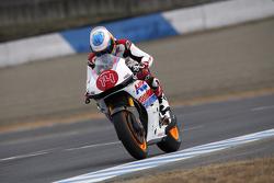 Фернандо Алонсо на мотоцикле Honda