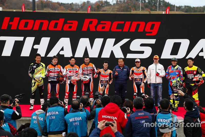 Pilotos da Honda