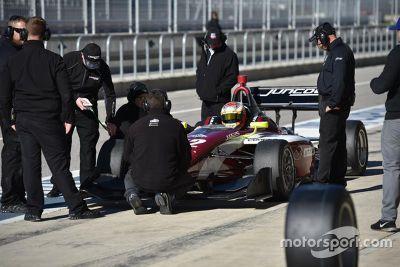 Mazda Road prueba en Indy