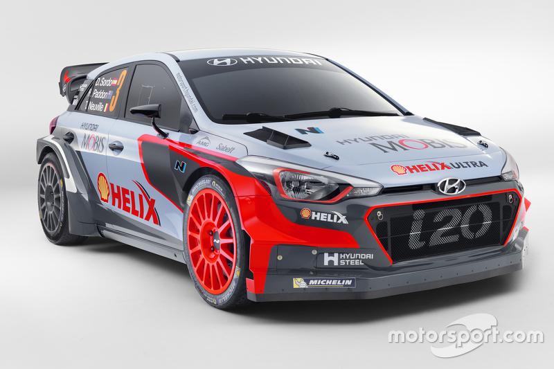 Hyundai i20 WRC 2016 года