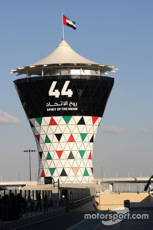 De Yas Marina toren
