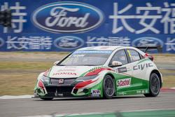 加布里埃尔莱·塔奎尼,本田 Civic WTCC, 本田JAS车队