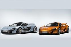 La première et la dernière McLaren P1 produites