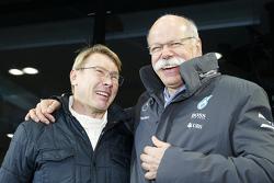 Mika Hakkinen en Dr. Dieter Zetsche