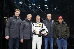 Ola Kaellenius、托马斯·韦伯博士、贝恩特·施奈德、Dieter Zetsche博士、尼基·劳达