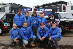 Team Polaris Xtreme Plus durante le verifiche a Le Havre