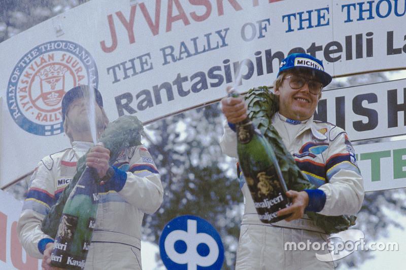 Timo Salonen, campeón del mundo del WRC 1985