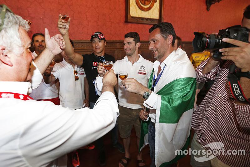 François Ribeiro, Eurosport Events Motorsport Director, Stefano D'Aste, Münnich Motorsport, Jose Mar