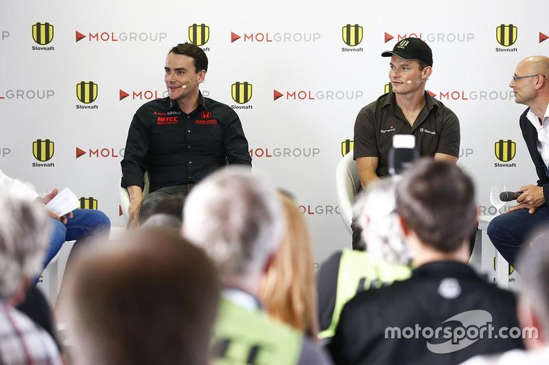 Norbert Michelisz, Honda Civic WTCC, Zengo Motorsport and Stefan Svitko