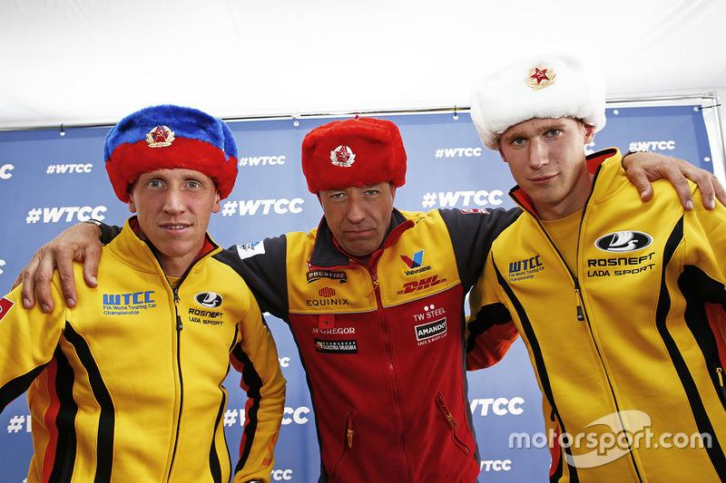 Jaap van Lagen, Lada Vesta WTCC, Lada Sport Rosneft, Nicky Catsburg, Lada Vesta WTCC, Lada Sport Ros