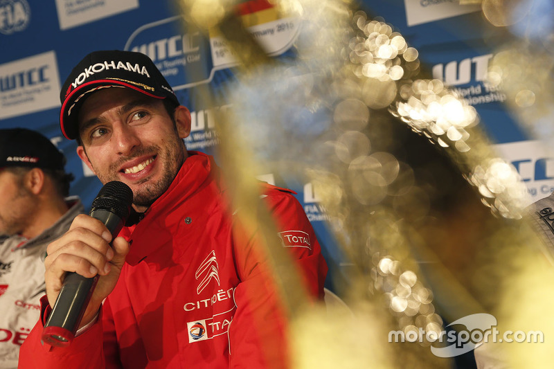 Press conference: Jose Maria Lopez, Citroën C-Elysee WTCC, Citroën World Touring Car team