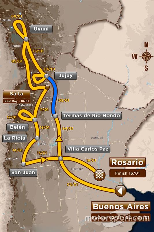 Etapa 3: Termas de Río Hondo - Jujuy