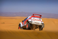 Acciona Eco Powered zero emissions vehicle