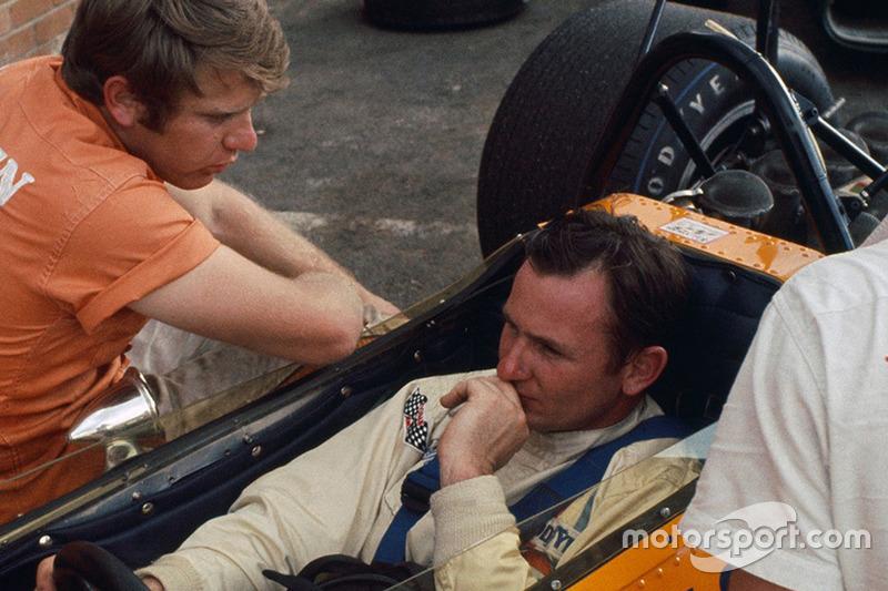 Tyler Alexander and Bruce McLaren
