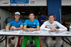 William Lok, Nick de Bruijn and Richard Bradley