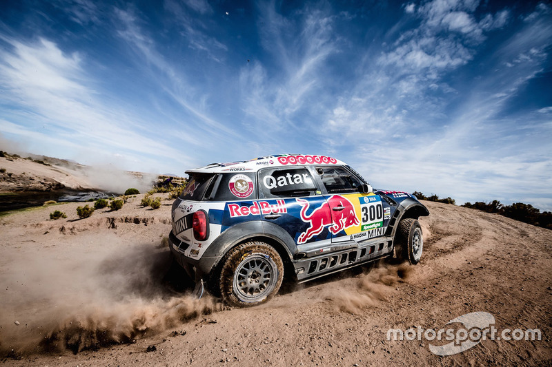 4. #300 Mini: Nasser Al-Attiyah and Matthieu Baumel