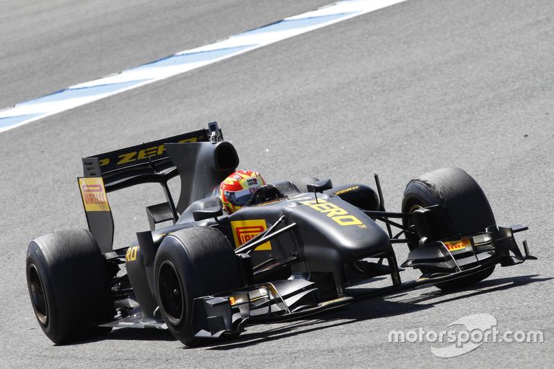 F1 Pirelli Test: Jaime Alguersuari