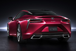 The Lexus LC500