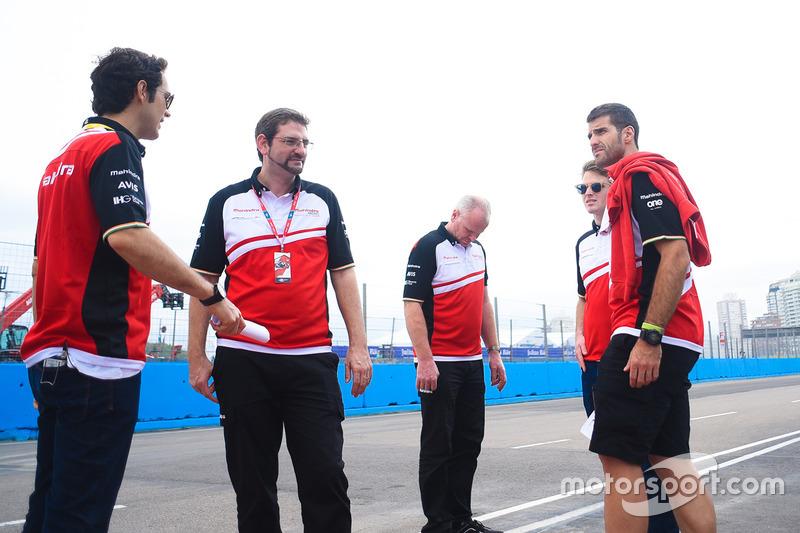 Joan Orus and Bruno Senna, Mahindra Racing