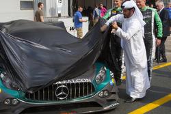 #3 Black Falcon Mercedes AMG GT3: Abdulaziz Al Faisal, Hubert Haupt, Yelmer Buurman, Bernd Schneider, Michal Broniszewski