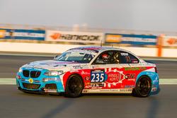 #235 DUWO Racing BMW M235i Racing Cup: Thierry Chkondali, Nicolas Schmit, Frederic Schmit, Maurice Faber, Jean-Marie Dumont