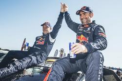 Car category winners #302 Peugeot: Stéphane Peterhansel, Jean-Paul Cottret